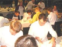 Keramikmalen-Betriebsfest
