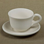 Espressotasse klassisch mit U-Teller / Setpreis 17 Euro / TB37
