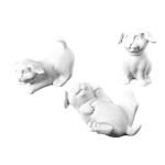 Hundebabies 3 Varianten (sitz/lieg/rücken) / 10 Euro / KiK04