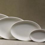 ovale Platte / 32x21 cm / 27 Euro / T41